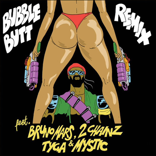 Major Lazer ft. Bruno Mars, 2 Chainz, Tyga & Mystic - Bubble Butt
